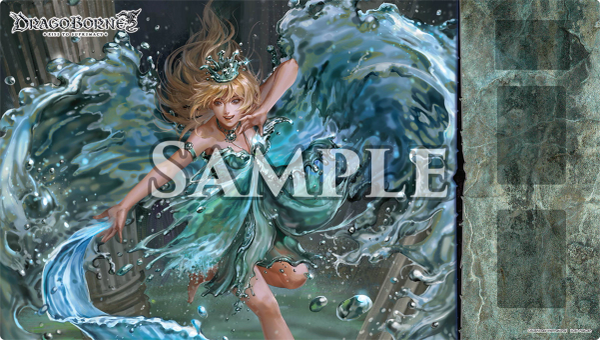 "DragoBorne Rubber Play Mat ""Oath of Blood (Mea, Whimsical Caper)"" by Bushiroad"