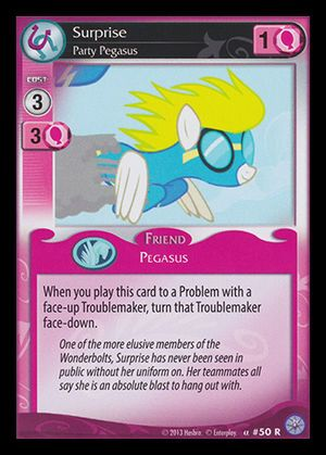 Premiere #50 Rare (Surprise, Party Pegasus)