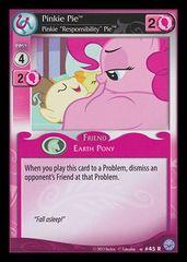 """Premiere #43 Rare (Pinkie Pie, Pinkie """"Responsibility"""" Pie)"""