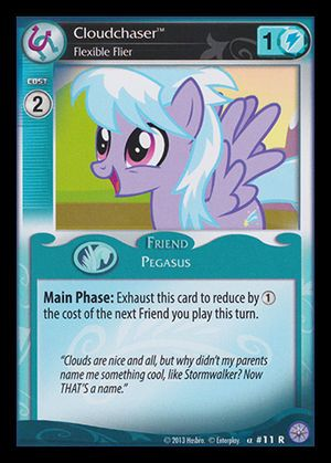 Premiere #11 Rare (Cloudchaser, Flexible Flier)