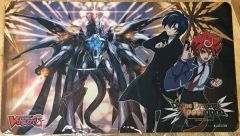 "Cardfight Vanguard G Rubber Mat ""Divine Dragon Apocrypha (Dragon Deity of Destruction, Gyze"" by Bushiroad"