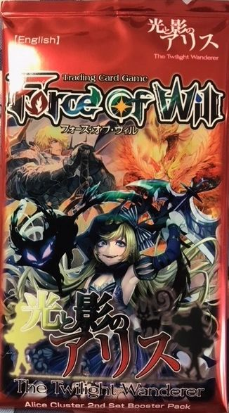 "Force of Will TCG Alice Cluster 2nd Set Booster Pack ""The Twilight Wanderer"""