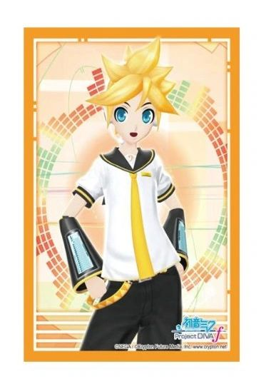 """Sleeve Collection HG """"Hatsune Miku: Project DIVA F (Kagamine Len)"""" Vol.470 by Bushiroad"""