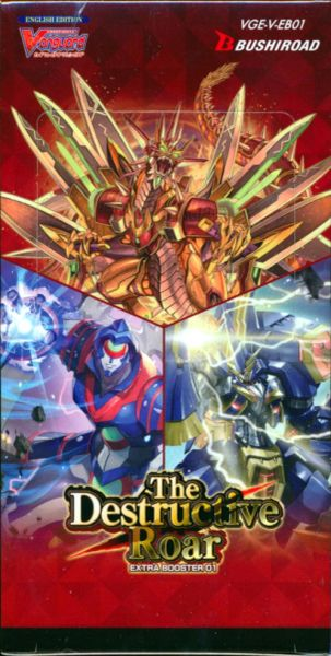 "Cardfight!! Vanguard Extra Booster Vol.01 ""The Destructive Roar"" VGE-V-EB01 by Bushiroad"
