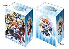 "Deck Holder Collection V2 ""Magical Girl Lyrical Nanoha Reflection (Nanoha/Fate/Hayate)"" Vol.468 by Bushiroad"