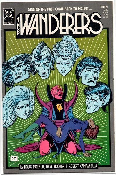 The Wanderers #4 (1988) by DC Comics
