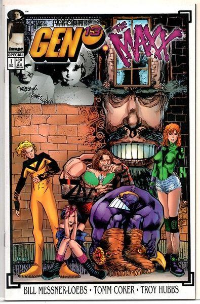 Gen 13 / Maxx #1 (1995) by Image Comics