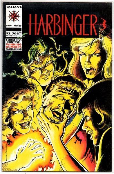 Harbinger #23 (1993) by Valiant