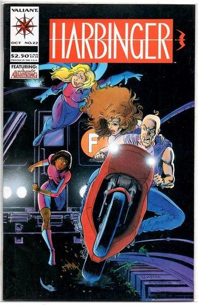 Harbinger #22 (1993) by Valiant