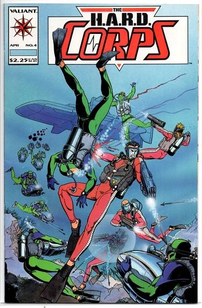 The H.A.R.D. Corps #4 (1993) by Valiant