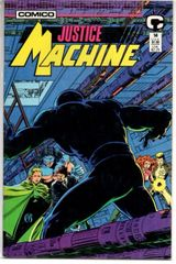 Justice Machine #14 (1988) by Comico