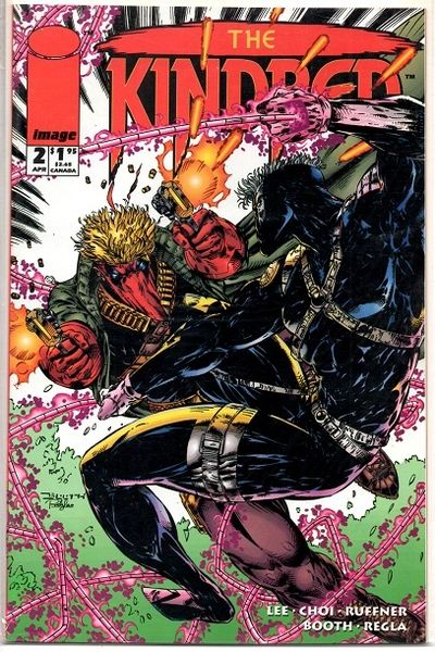 The Kindred #2 (1994) by Image Comics
