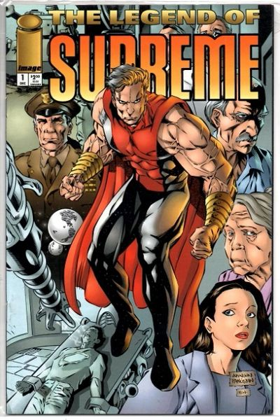 The Legend of Supreme #1 (1994) by Image Comics