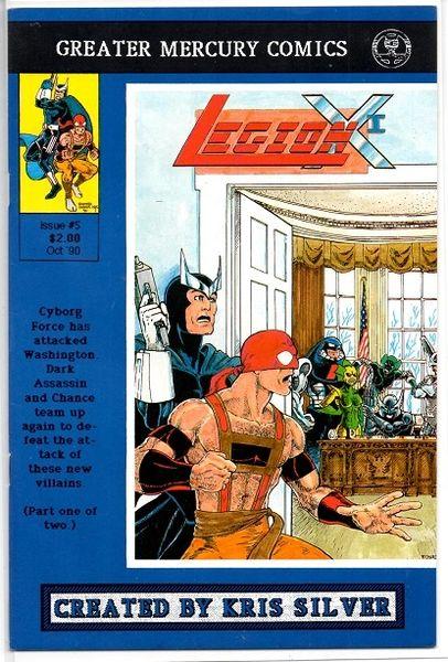 Legion X-I #5 (1990) by Greater Mercury Comics
