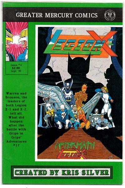 Legion X-I #4 (1990) by Greater Mercury Comics