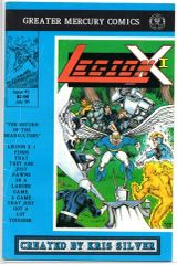 Legion X-I #3 (1990) by Greater Mercury Comics