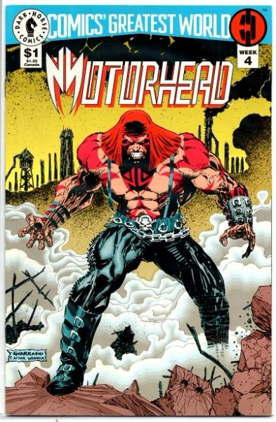 Comics' Greatest World: Motorhead #4 (1993) by Dark Horse Comics