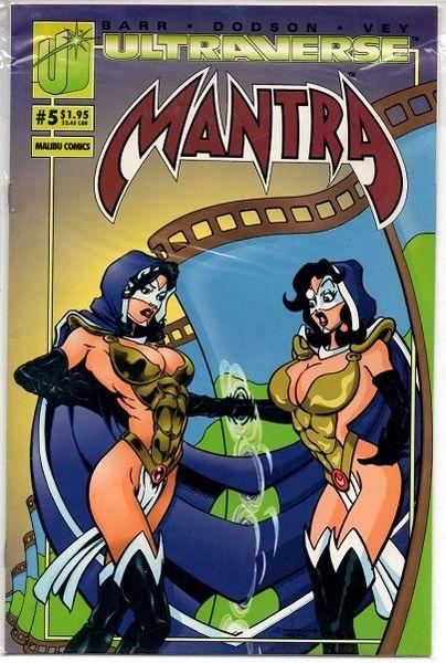 Mantra #5 (1993) by Malibu Comics