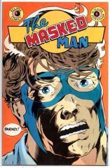 The Masked Man #6 (1985) by Eclipse Comics