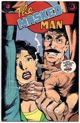 The Masked Man #5 (1985) by Eclipse Comics