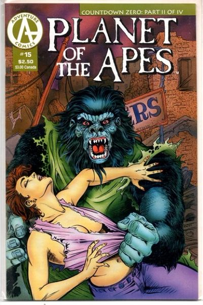 Planet of the Apes #15 (1991) by Malibu Comics