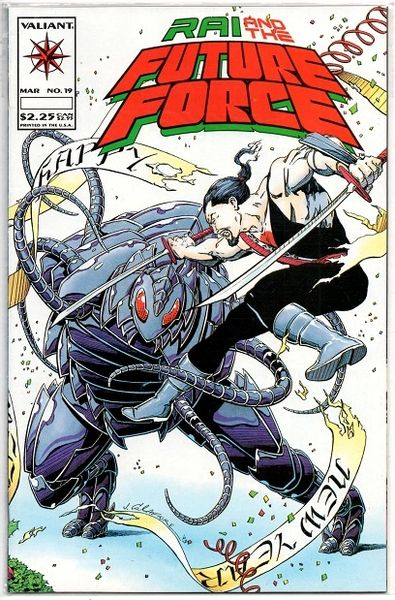 Rai and the Future Force #19 (1994) by Valiant