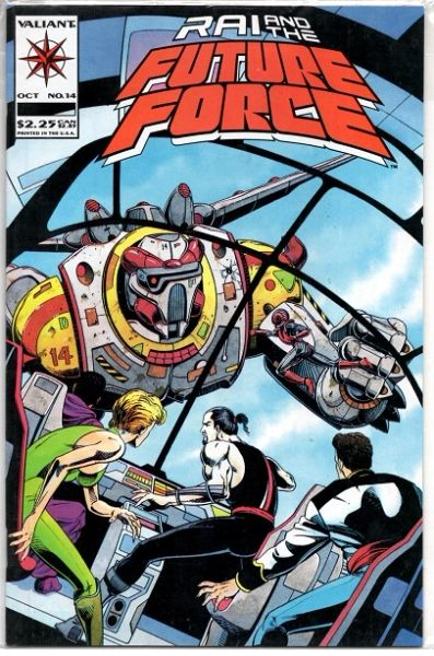 Rai and the Future Force #14 (1993) by Valiant