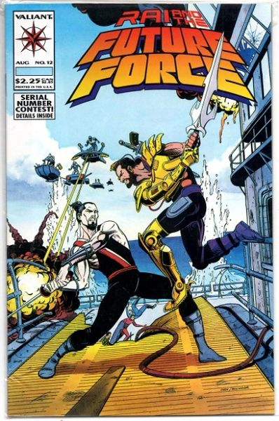Rai and the Future Force #12 (1993) by Valiant