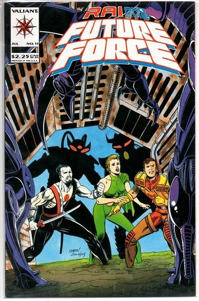 Rai and the Future Force #11 (1993) by Valiant