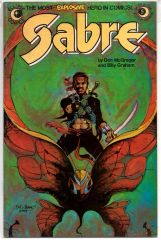 Sabre #5 (1983) by Eclipse Comics
