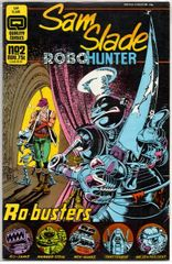 Sam Slade: Robo-Hunter #2 (1986) by Quality Comics
