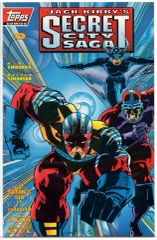 Jack Kirby's: Secret City Saga #0 (1993) by Topps Comics