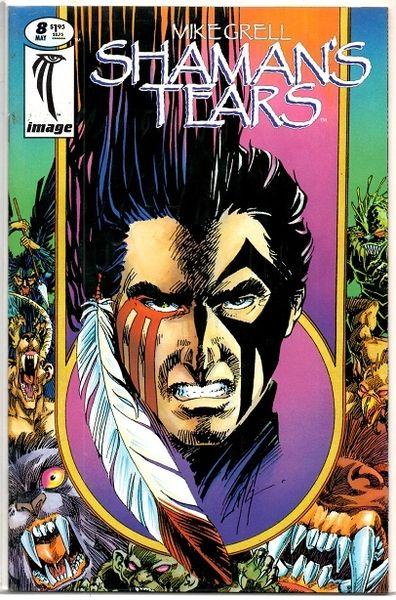 Shaman's Tears #8 (1995) by Image Comics