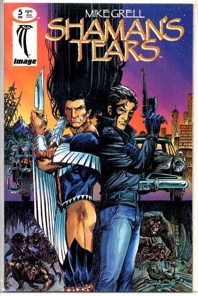 Shaman's Tears #5 (1995) by Image Comics