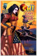 Shi: East Wind Rain #1 (1997) by Crusade Comics