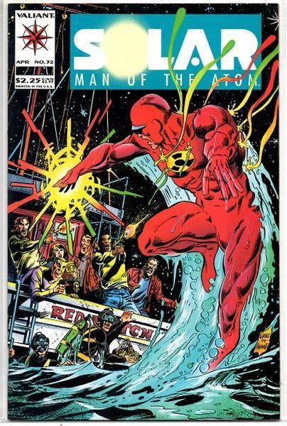 Solar, Man of the Atom #32 (1994) by Valiant