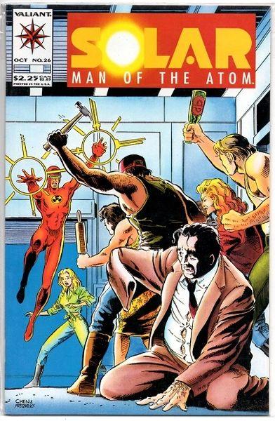 Solar, Man of the Atom #26 (1993) by Valiant