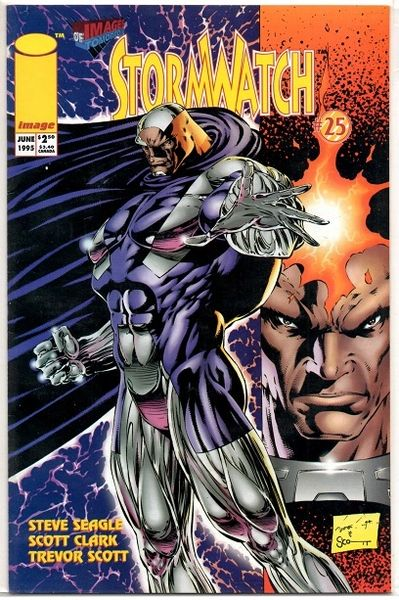 Stormwatch #25 (1994) by Image Comics