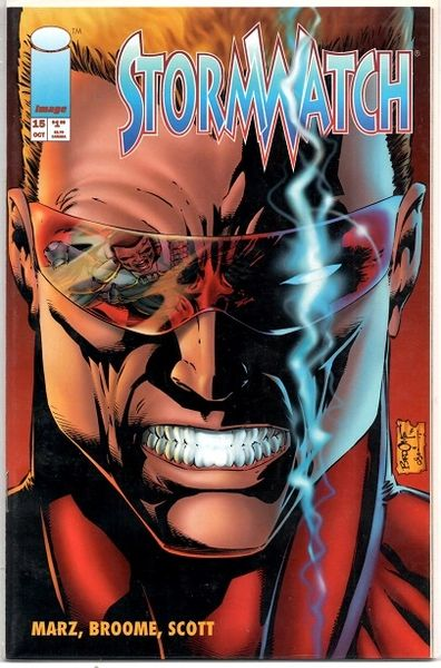 Stormwatch #15 (1994) by Image Comics