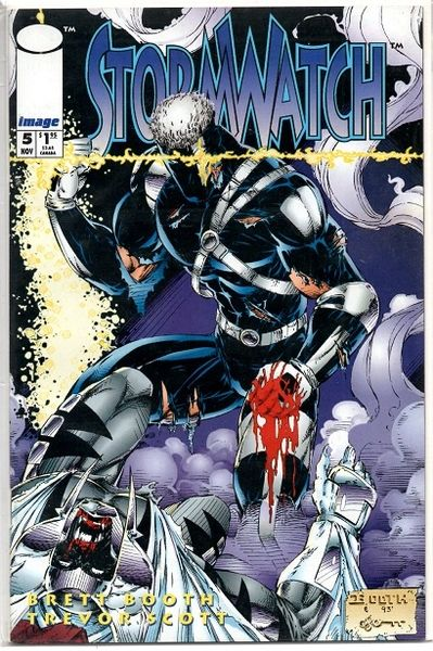 Stormwatch #5 (1993) by Image Comics