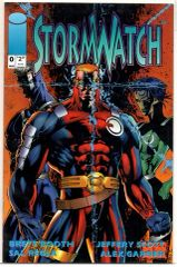 Stormwatch #0 (1993) by Image Comics