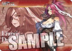 """Character Universal Rubber Mat """"Fate/ EXTELLA LINK (Francis Drake)"""" by Broccoli"""