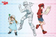 "Rubber Mat Collection ""Cells at Work!"" Vol.198 by Bushiroad"