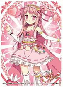 """Chara Sleeve Collection """"Black Bullet Tenchu Girls (Pink)"""" No.300 by Movic"""