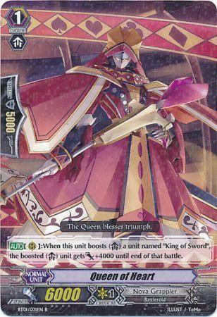 BT01/031EN (R) Queen of Heart