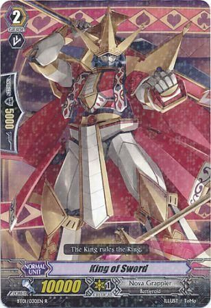 BT01/030EN (R) King of Sword