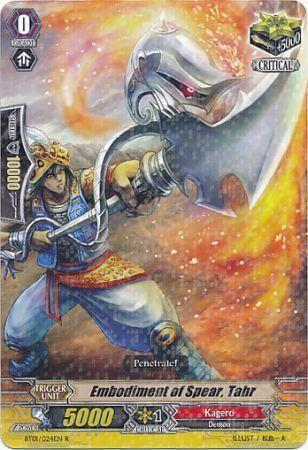 BT01/024EN (R) Embodiment of Spear, Tahr