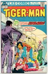 Tiger-Man #1 (1975) by Atlas Comics