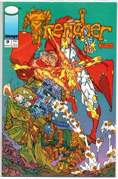 Trencher #3 (1993) by Image Comics