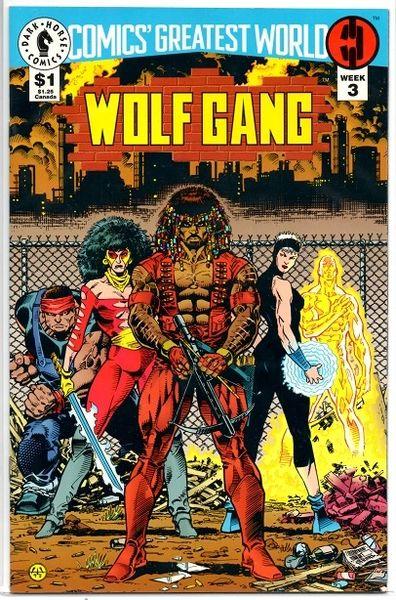 Comics' Greatest World: Wolf Gang #3 (1993) by Dark Horse Comics